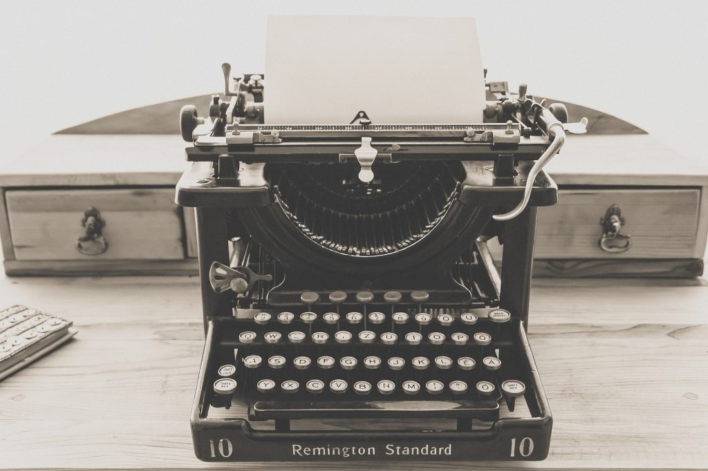 What Can a Typewriter Teach Us about Great User Experience?<br> <span style='color:#1A1A1A;font-size:24px;'>A lot, actually.</span>