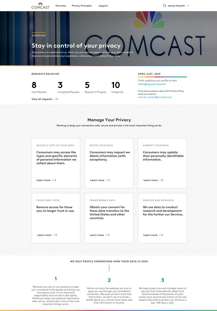 Comcast CCPA Dashboard - Verified (002)